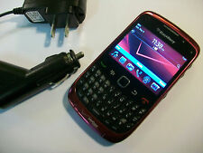 Good! BlackBerry Curve 3G 9330 Purple Camera Qwerty Wifi Verizon Smartphone
