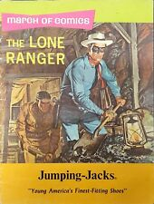 March of Comics No. 338 The Lone Ranger Jumping-Jacks Shoes Promo Tan Pgs 1969