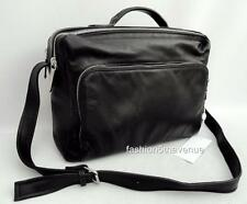 Maison MARTIN MARGIELA Borsa a Tracolla in Pelle Affari Valigetta Laptop Case New