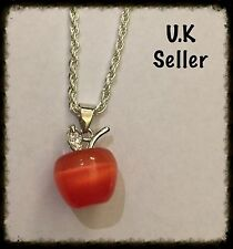Red Apple Necklace.