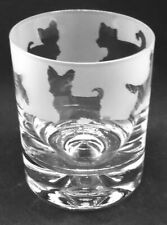 More details for yorkshire terrier frieze boxed 30cl glass whisky tumbler