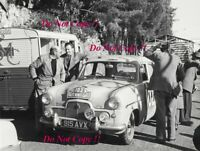 Phillips & Baxter Ford Zephyr Monte Carlo Rally 1955 Photograph 3