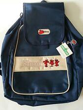 New NWT Sesame Street Elmo Backpack Dark Blue White & Red