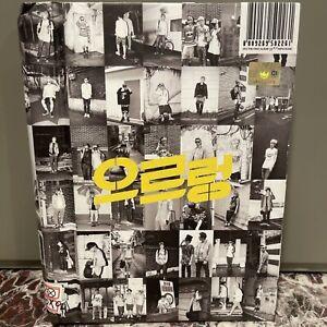 "EXO THE FIRST ALBUM ""XOXO"" ALBUM PHOTOBOOK K-pop CD Korean Pop"