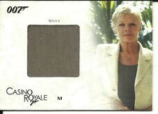 James Bond in Motion Costume card - SC02  M's Shirt  285/300