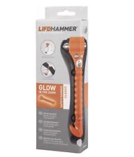 Emergency Hammer Original Lifehammer Classic Glow-O Incl. Holder, Belt Cutter