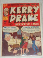 KERRY DRAKE DETECTIVE CASES #9 VG+ (4.5) HARVEY COMICS JULY 1948