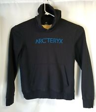 Arc'teryx Centre Pullover Hoodie Sweatshirt Black, Anorak Pocket, Men's XL