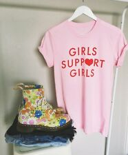 Girls Support Girls Tee t shirt Women Sexy Funny Tumblr Graphic Hipster t-shirts