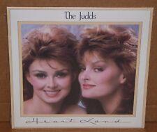 The Judds Heartland Wyonna Naomi Judd LP vinyl record SEALED cut out