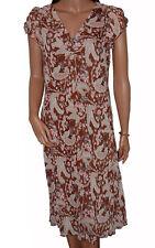Calf Length Polyester Casual Boho, Hippie Women's Dresses