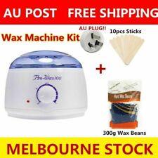 Wax Pot + Wax Bean+Sticks Warmer Kit Hair Removal Heater Depilatory Machine
