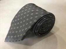 NWT New Joseph Abboud Men's Gray Geometric Silk Neck Tie $89