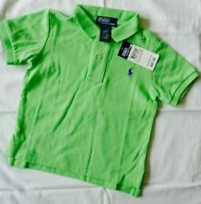 Polo Ralph Lauren Boys' No Pattern 100% Cotton T-Shirts & Tops (2-16 Years)