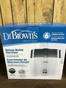 Dr. Brown's Deluxe Bottle Sterilizer Brand New Sealed