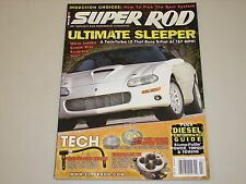 SUPER ROD JuLY 2008 ULTIMATE SLEEPER 9 SEC. 150 MPH CAMARO TWIN-TURBO LS HOT ROD