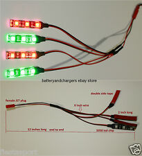 1 JST Plug to 4 LED Strip Light Night Light for ZMR250 QAV250 RC FPV Quadcopter