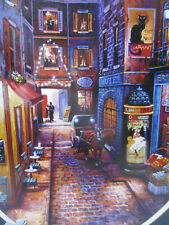 """Puzzle 500 Piece French Street Scene Cardinal Industries 14"""" x 11"""" Sealed Box"""