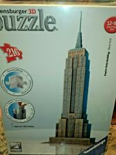 3D Puzzle Empire State Building - 216 Piece Ravensburger Puzzle New!