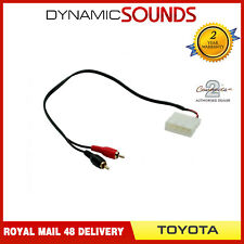 CT29TY01 RCA Aux Input Interface Adaptor Cable Lead for Toyota All Models