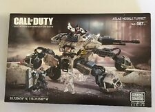 New - Mega Bloks - Call of Duty - Atlas Mobile Turret Collector Series Set