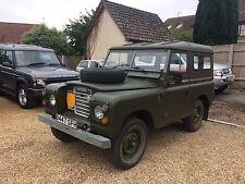 "Land Rover Series 88"" B reg 1984 Ex MOD Military vehicle."