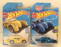Hot Wheels VOLKSWAGEN KAFER RACER Lot! Moon Eyes & URBAN OUTLAW VW Racers!