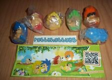 HEDGEHOGS COMPLETE SET WITH ALL PAPERS KINDER SURPRISE 2015