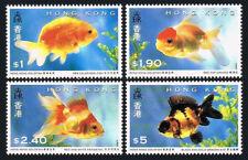 Hong Kong 684-687, MNH. Goldfish, 1993
