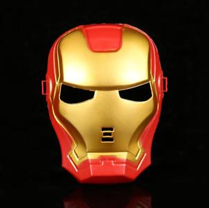 Marvel Iron Man Face Mask Children Birthday Party Costume Avengers Fancy Dress