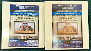 Case MX100 MX110 MX120 MX135 Service Repair Workshop Manual,Fully Printed
