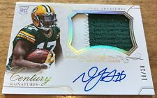 2014 National Treasures Davante Adams Rookie RC Patch Auto 10/10 1/1 Packers