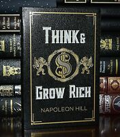 Think and Grow Rich by Napoleon Hill New Deluxe Soft Leather Bound