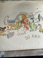 "Vintage unopened LP - Crosby Stills Nash and Young ""So Far"""