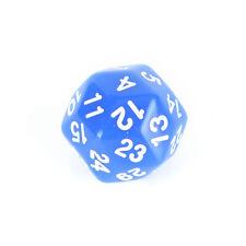 1x dado da gioco D30 numero di dado a 30 facce1-30 5colori Dadi inacrilicoDadiPB