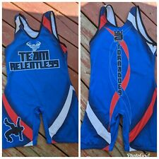 Team Relentless Wrestling Singlet. Large.