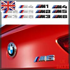 BMW //M1 //M2 //M3 //M4 //M5 //M6 FENDER GRILLE EMBLEM BADGE STICKER UK STOCK