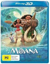 Moana 3D Blu-ray BRAND NEW SEALED Region B