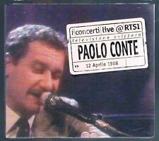 PAOLO CONTE  LIVE RTSI CD F.C.SIGILLATO!!!