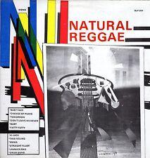 """ NATURAL REGGAE. "" various artists. COXSONE JA  L.P."