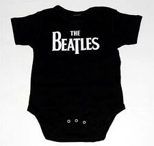 BEATLES Pop Rock Band NAME LOGO Baby Infant Toddler ONE PIECE BODYSUIT 24 Months