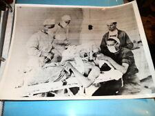 #8558,Orig.Henry Miller Photo,1943,Medical Attention German Officer by US Docs