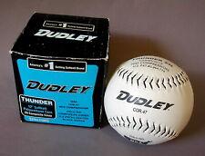 """SOFTBALL Baseball DUDLEY THUNDER NSA Cor.47 Mid Compression 12"""" ZN12-ND Ball"""