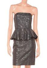 Stella McCartney Metallic Jacquard Peplum Dress Size 44 $1845