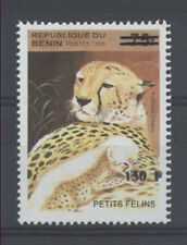 FÉLIN Bénin surcharge de 2000 cote 100euro 1256 ** - FELINS