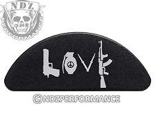 for Glock 42 Aluminum Grip Frame BLK Slug Plug Love Guns