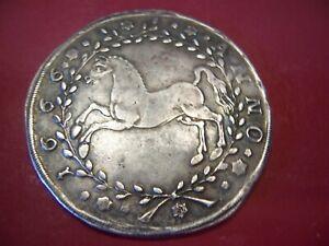 Münze 1TALER, Braunschweig-Calenberg,1666 LW- Clausthal, Silber,ss .
