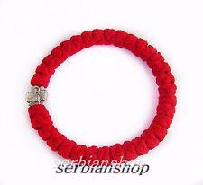 Serbia Red Color Rosary Macrame Bracelet The Ortxodox Church Srbija
