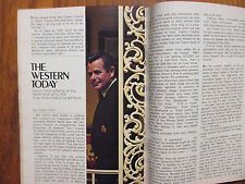April--1972 TV Guide(CADE'S COUNTY/GLENN FORD/JULIE ADAMS/THE JIMMY STEWART SHOW