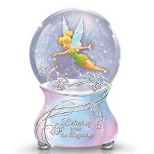 Tinker Bell s Magic Globe Disney Glitter Musical Water Globe / Snow Dome